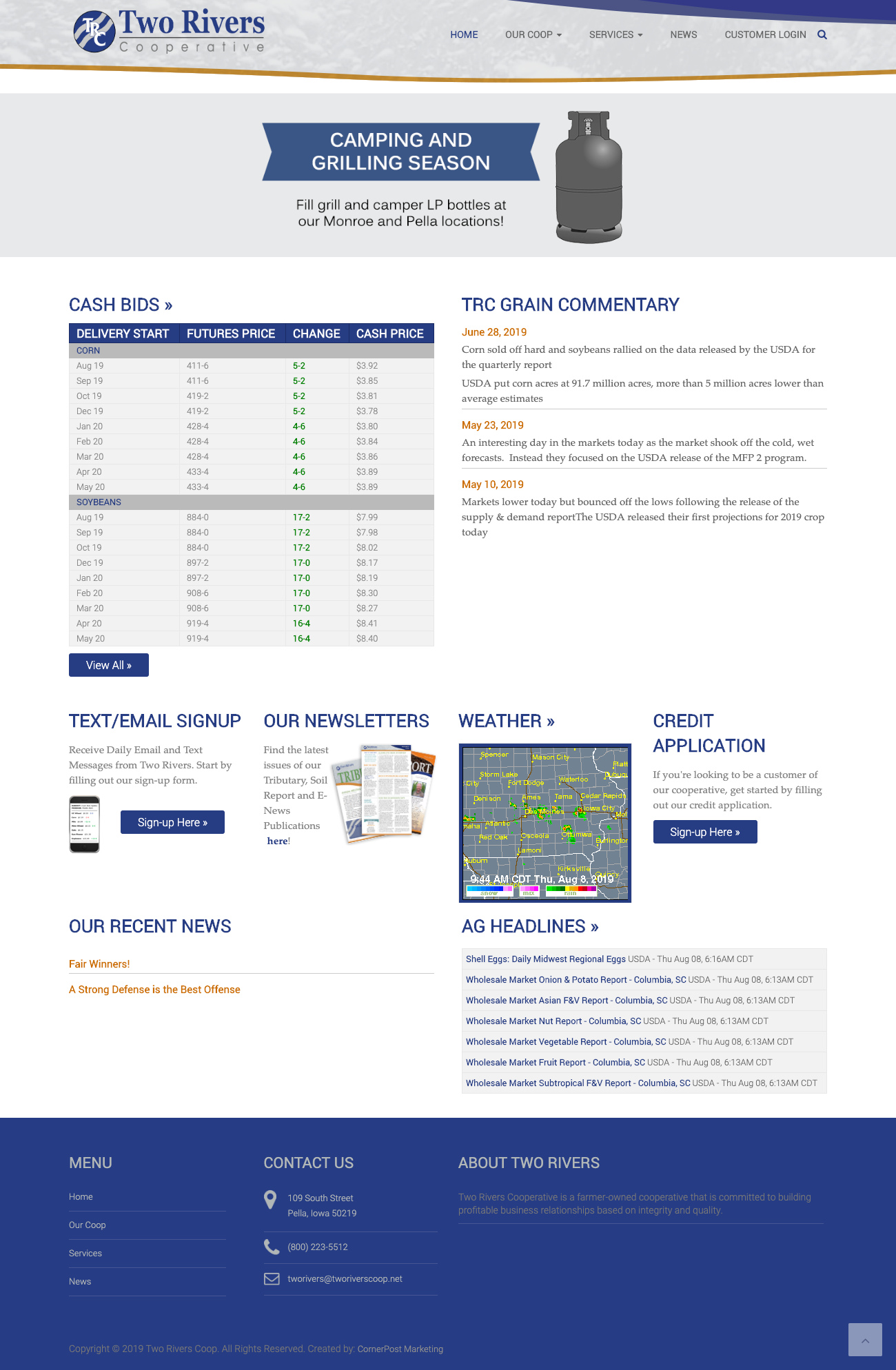 Two Rivers Cooperative Website